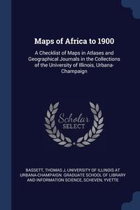Книга под заказ: «Maps of Africa to 1900»