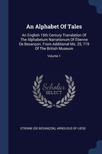 Книга под заказ: «An Alphabet Of Tales»