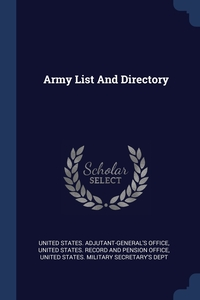 Книга под заказ: «Army List And Directory»
