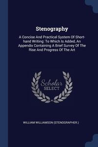 Книга под заказ: «Stenography»