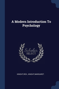 Книга под заказ: «A Modern Introduction To Psychology»