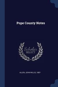 Книга под заказ: «Pope County Notes»