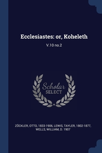 Книга под заказ: «Ecclesiastes»