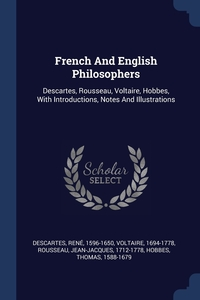 Книга под заказ: «French And English Philosophers»