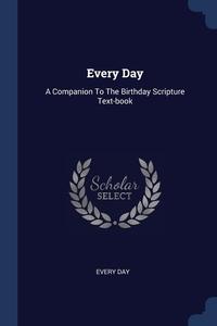 Книга под заказ: «Every Day»