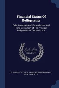 Книга под заказ: «Financial Status Of Belligerents»