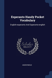 Книга под заказ: «Esperanto Handy Pocket Vocabulary»