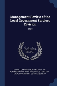 Книга под заказ: «Management Review of the Local Government Services Division»