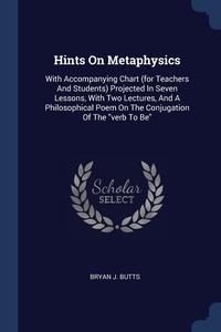 Книга под заказ: «Hints On Metaphysics»