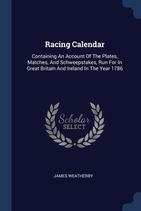 Книга под заказ: «Racing Calendar»