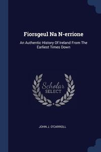 Книга под заказ: «Fiorsgeul Na N-errione»