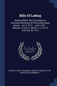 Книга под заказ: «Bills Of Lading»