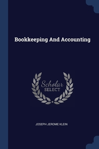 Книга под заказ: «Bookkeeping And Accounting»