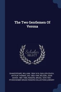 Книга под заказ: «The Two Gentlemen Of Verona»