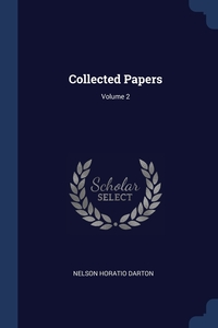 Книга под заказ: «Collected Papers; Volume 2»