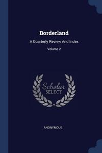 Книга под заказ: «Borderland»