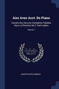 Книга под заказ: «Airs Avec Acct. De Piano»