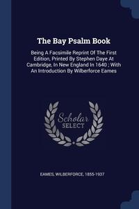 Книга под заказ: «The Bay Psalm Book»