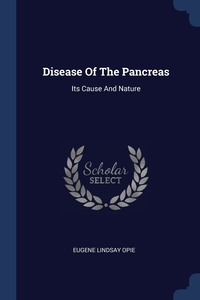 Книга под заказ: «Disease Of The Pancreas»