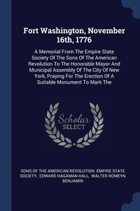 Книга под заказ: «Fort Washington, November 16th, 1776»