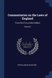 Книга под заказ: «Commentaries on the Laws of England»