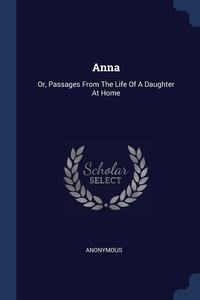Книга под заказ: «Anna»