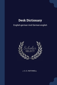 Книга под заказ: «Desk Dictionary»