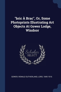 'bric À Brac', Or, Some Photoprints Illustrating Art Objects At Gower Lodge, Windsor, Ronald Sutherland Lord 1845-191 Gower обложка-превью