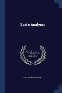 Книга под заказ: «Best's Analyses»