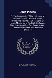 Книга под заказ: «Bible Places»