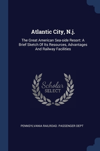 Книга под заказ: «Atlantic City, N.j.»