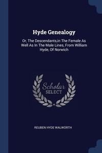 Книга под заказ: «Hyde Genealogy»