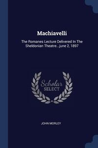 Книга под заказ: «Machiavelli»