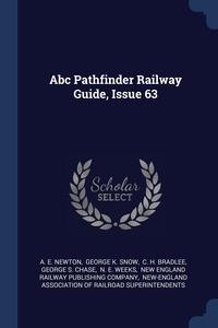 Книга под заказ: «Abc Pathfinder Railway Guide, Issue 63»
