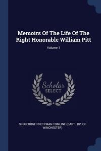 Книга под заказ: «Memoirs Of The Life Of The Right Honorable William Pitt; Volume 1»
