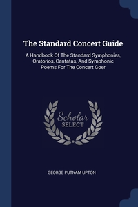 Книга под заказ: «The Standard Concert Guide»