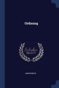 Книга под заказ: «Ordnung»