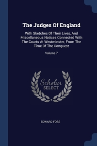 Книга под заказ: «The Judges Of England»