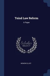 Книга под заказ: «Teind Law Reform»