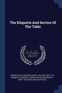 Книга под заказ: «The Etiquette And Service Of The Table»