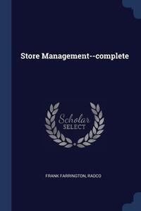 Книга под заказ: «Store Management--complete»
