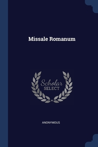 Книга под заказ: «Missale Romanum»