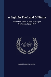 Книга под заказ: «A Light In The Land Of Sinim»