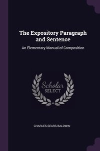 Книга под заказ: «The Expository Paragraph and Sentence»