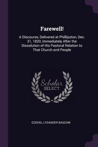 Книга под заказ: «Farewell!»