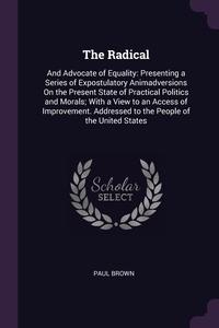 Книга под заказ: «The Radical»