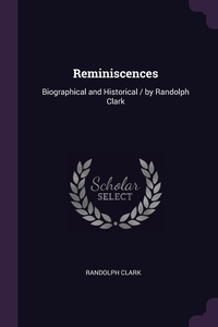 Книга под заказ: «Reminiscences»