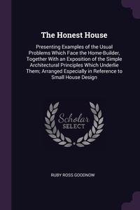 Книга под заказ: «The Honest House»