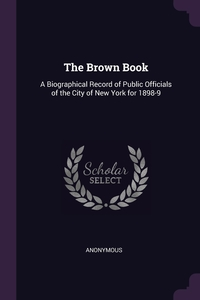 Книга под заказ: «The Brown Book»