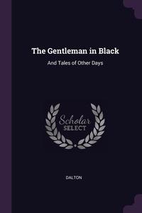 Книга под заказ: «The Gentleman in Black»